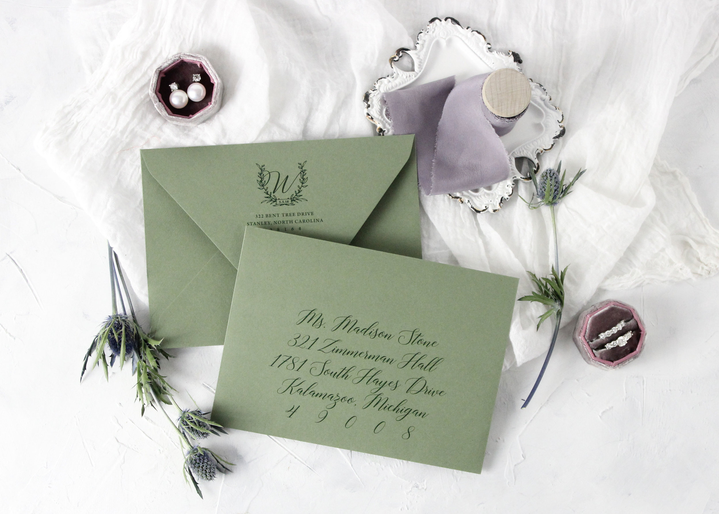 Digital Envelope Addressing