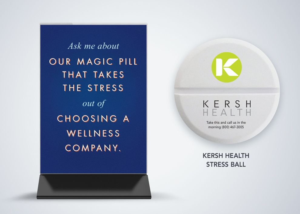 Kersh Health Stress Ball Giveaways