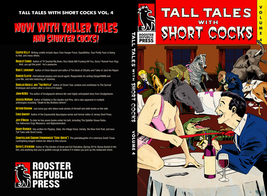 Tall Tales with Short Cocks, Vol 4 Book Jacket