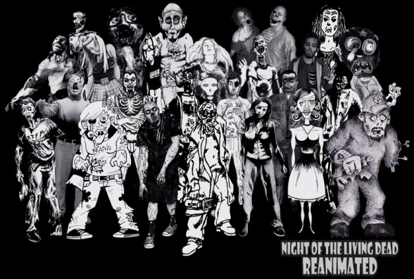 Zombie Artist Cast Photo