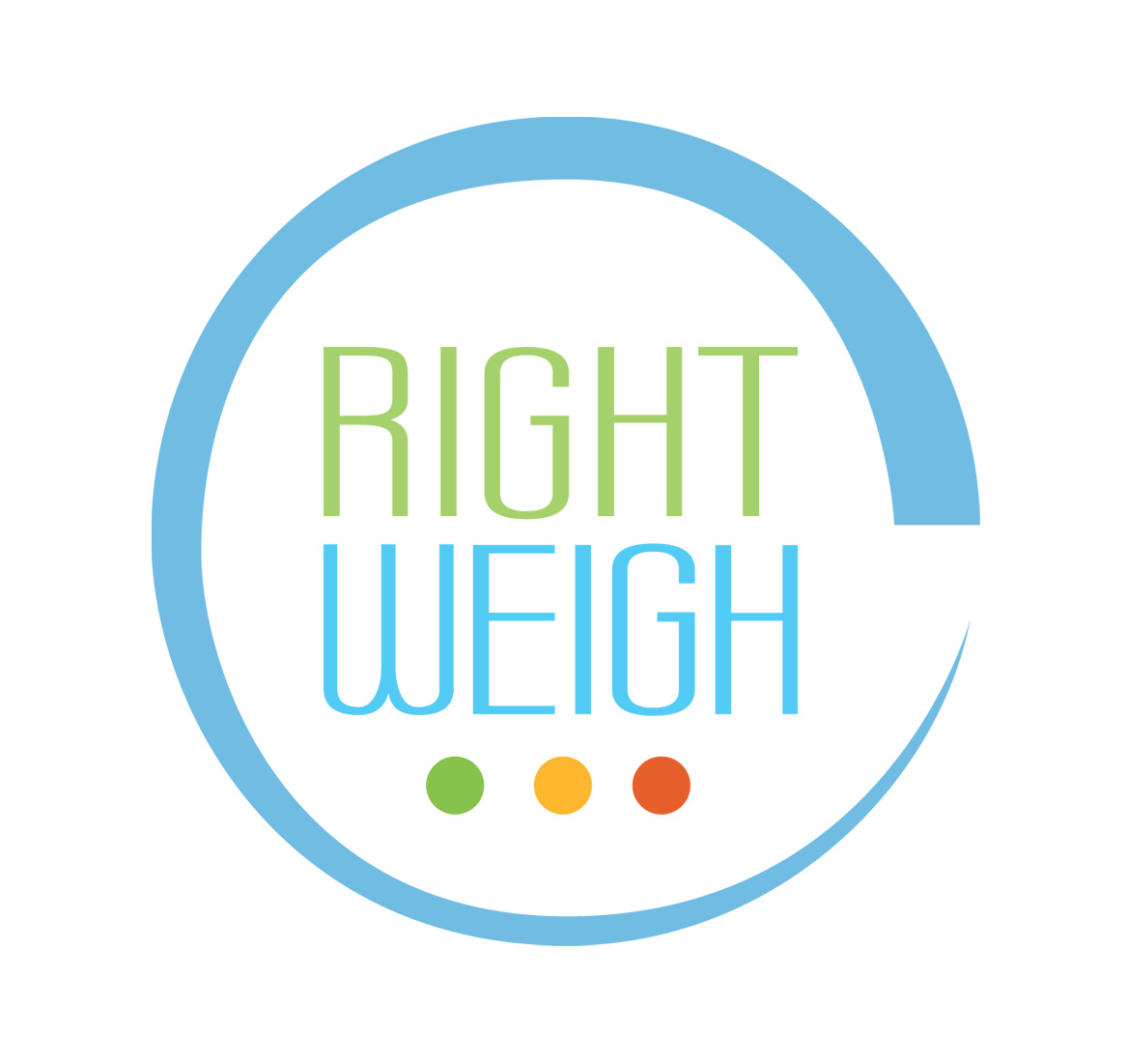 Unused Right Weigh Logo Redesign