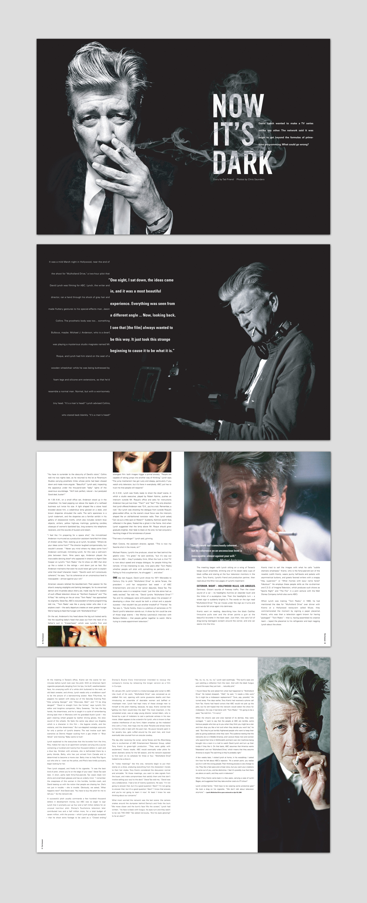 MAGAZINE EDITORIAL DESIGN