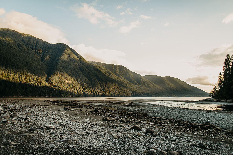 Copy of alouette lake mountains water landscape