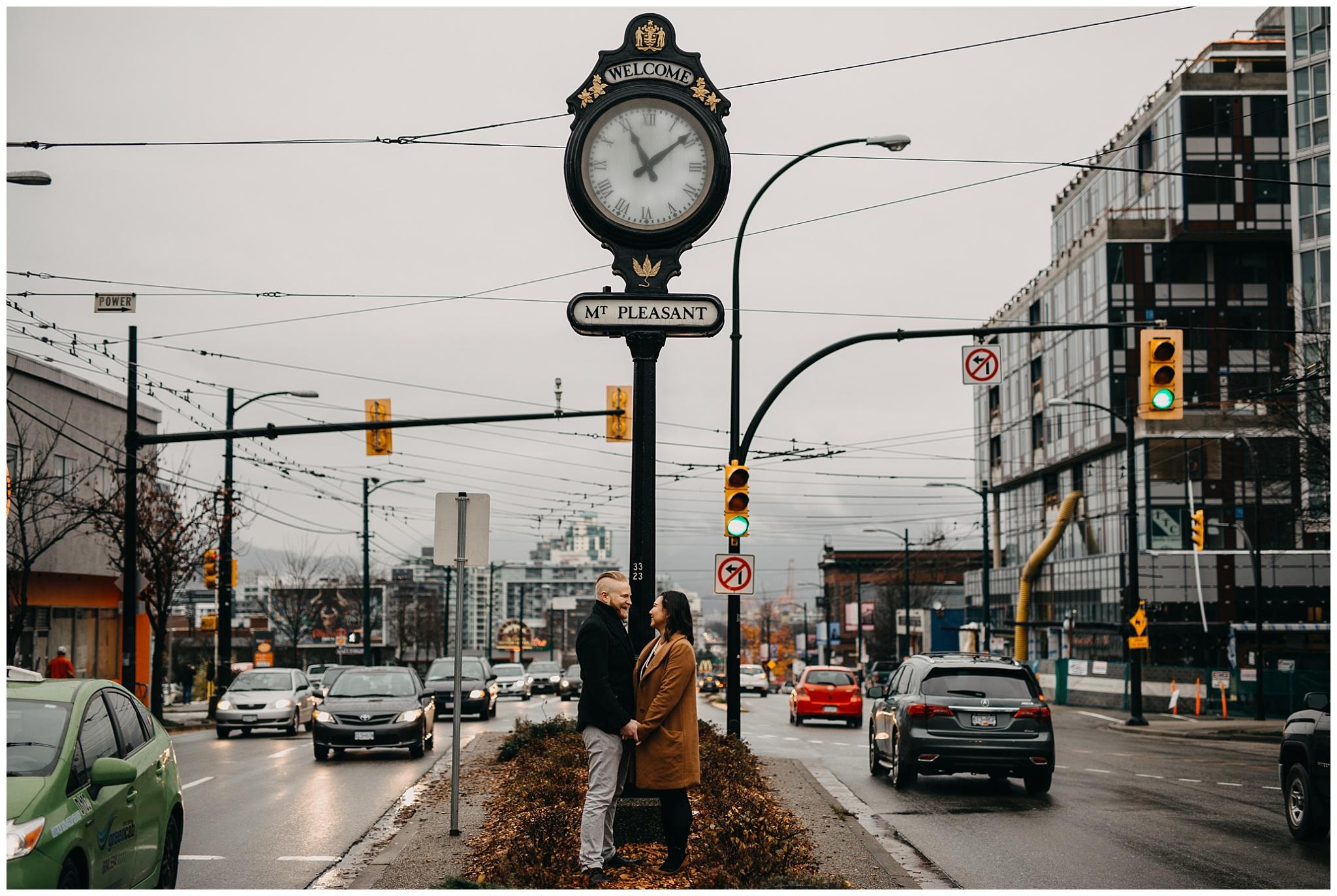 mount pleasant clock vancouver city urban engagement