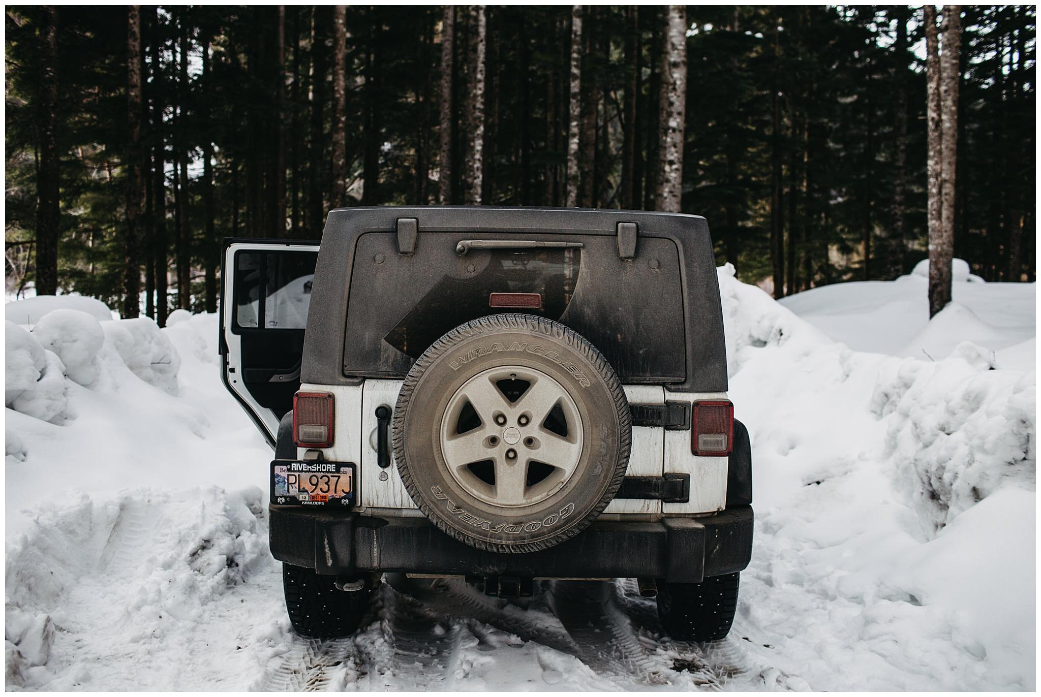 muddy jeep road to jones lake