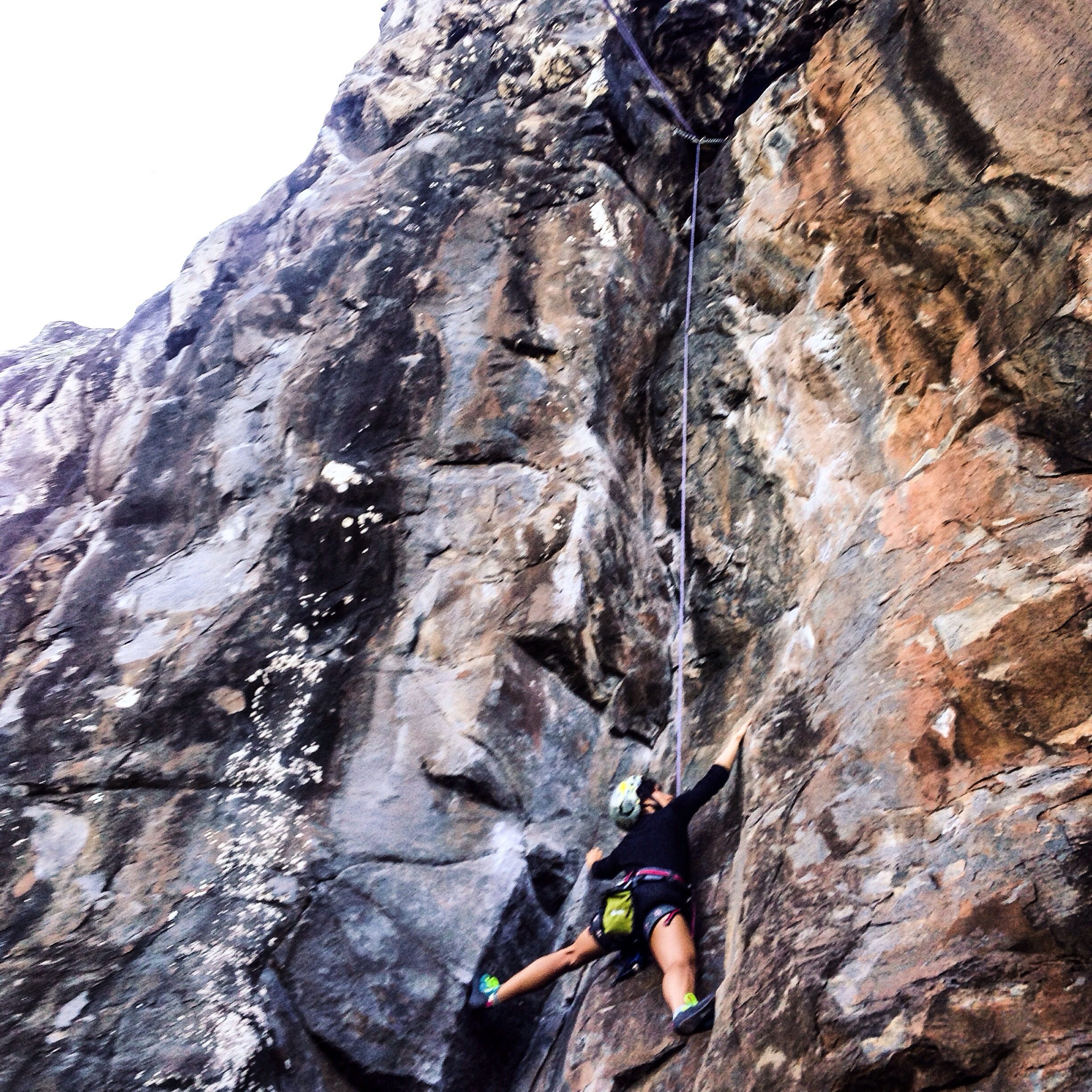 What an amazing climb!! One of the most challenging climbs I've everexperienced! Pure magic!