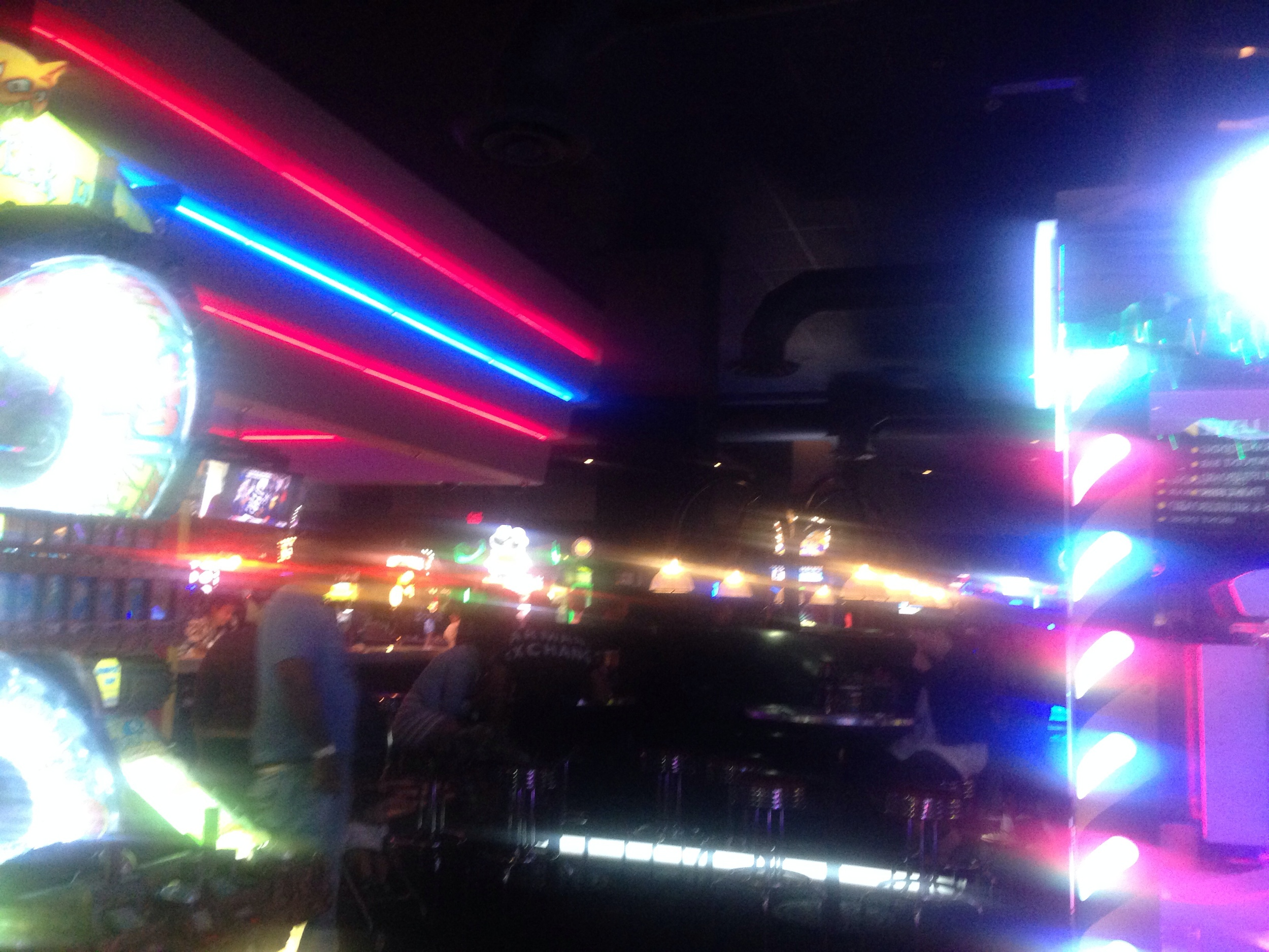 At DAVE AND BUSTERS!!!! This place is amazing!!!!!