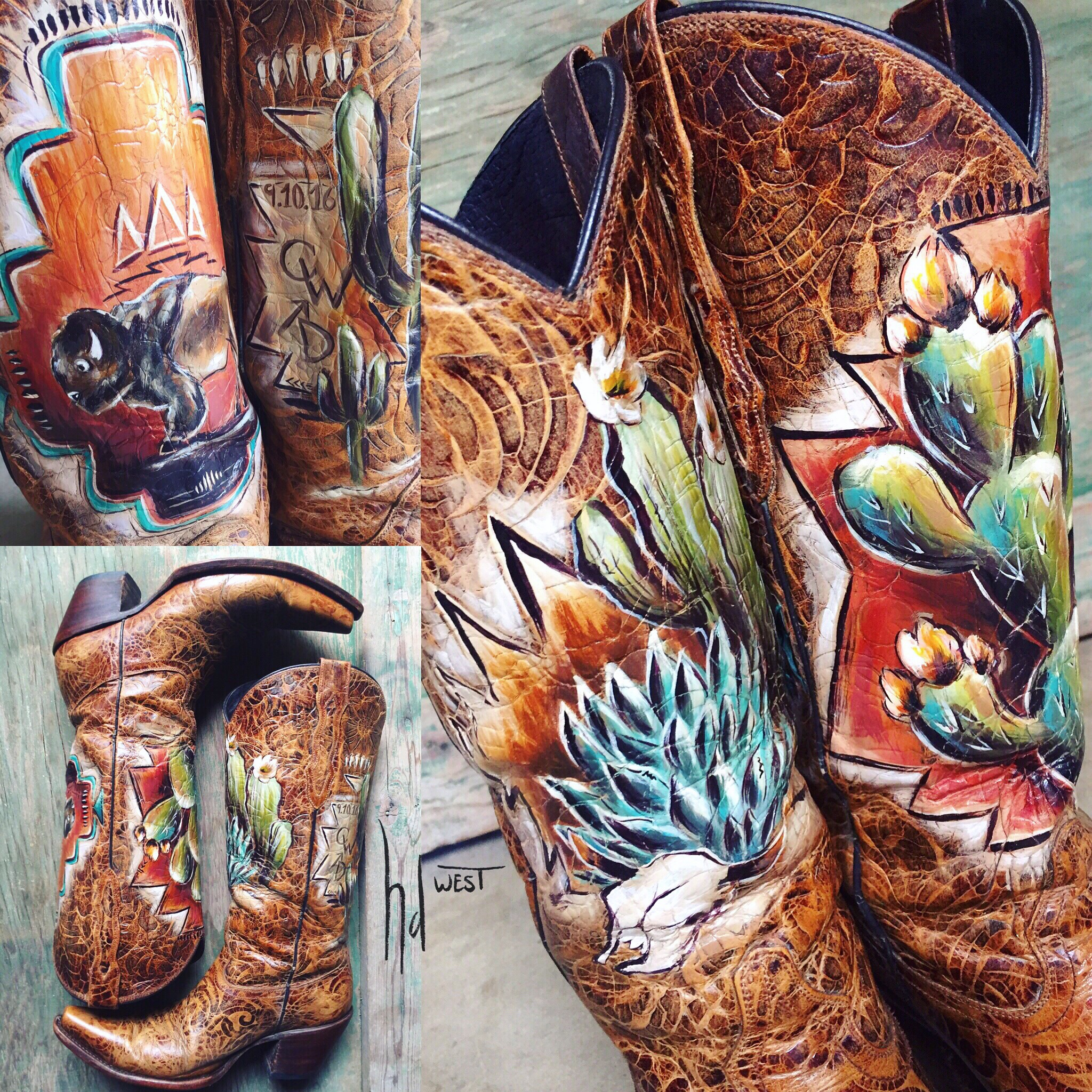 hdwest boots