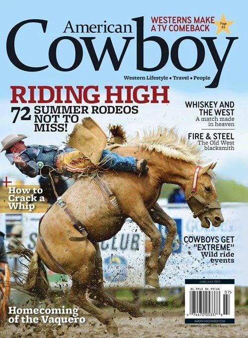 American Cowboy Magazine - June/July 2013Gear