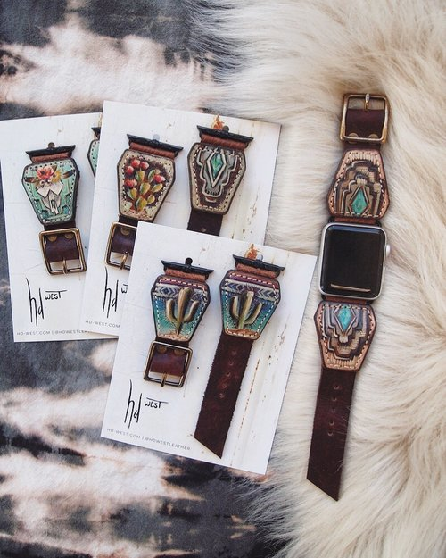 watchbands - Each watch band is one of a kind. Watchbands start at $220Most ready to ship bands are made to fit Apple watches however watchbands for other models can be ordered as long as hardware is available.