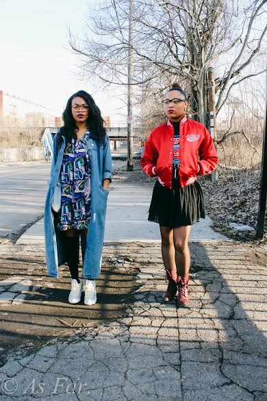 Actresses Renae Nicole & Jasmine Louise    Shot & Edited by Director Paige Alston (  @paypaige  ) & Asst. Director Derrick Hill (  @hossography  ) wardrobe styled by Shade' Akinruli (  @addictive_87  )