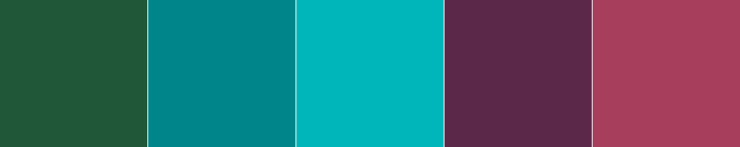 a.  combination of the first three colors from 1 and the first two colors from 9