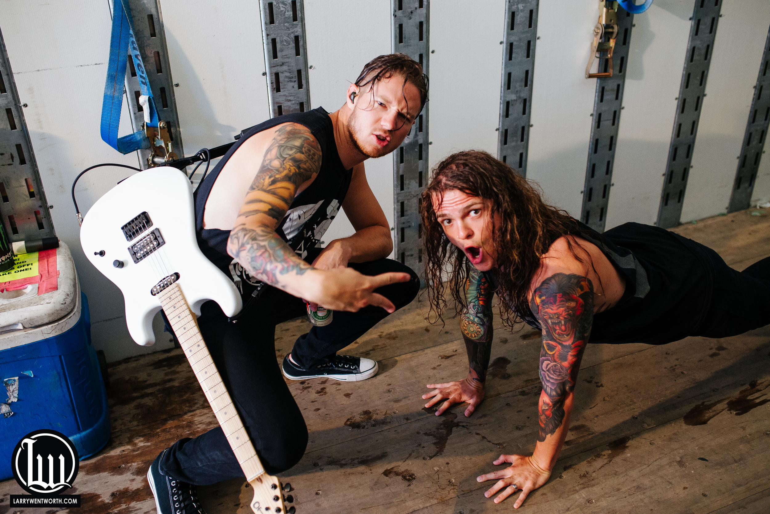 Justin and Levi of Miss May I