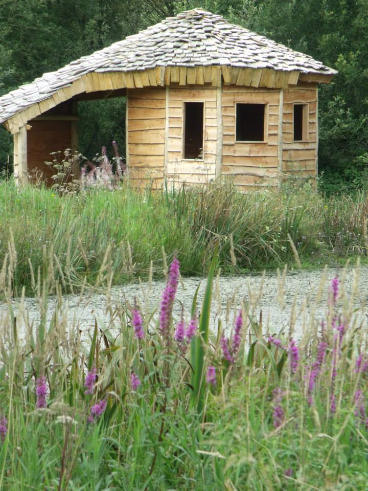The hide by the lake. You will see otters -if you are lucky!
