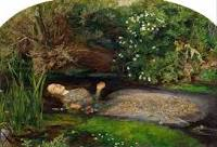 And here she is - Ophelia herself. Can you see what I mean?