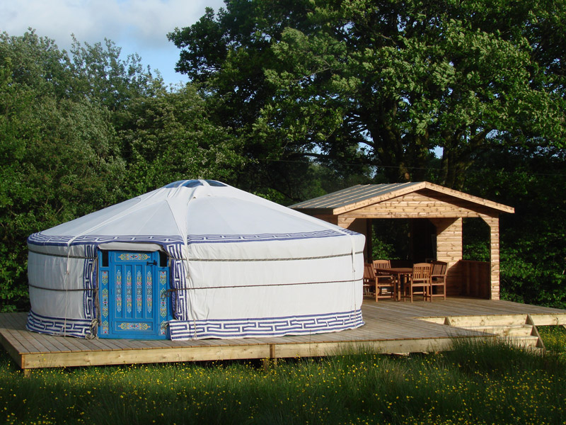 "One of 2 Yurts available. Or you can stay in a ""normal"" bedroom!"