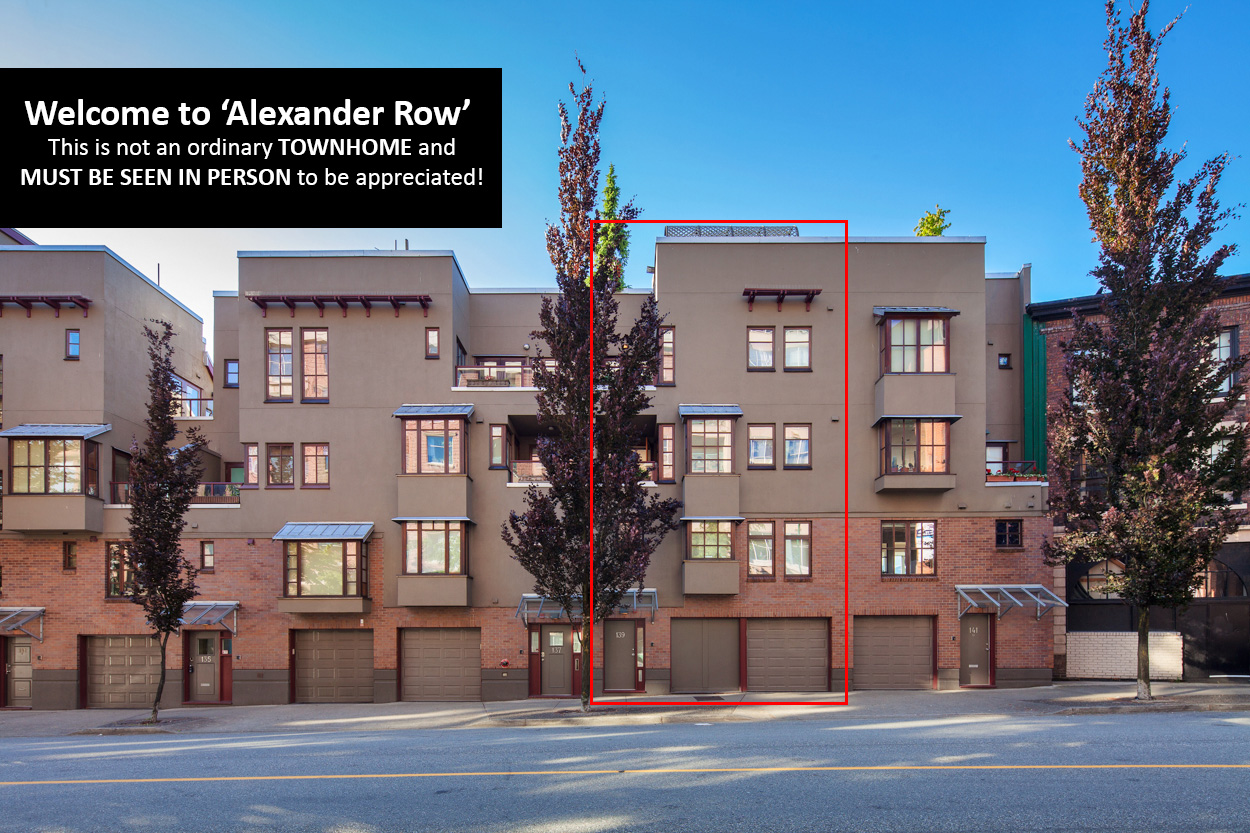 139 Alexander Row, Vancouver