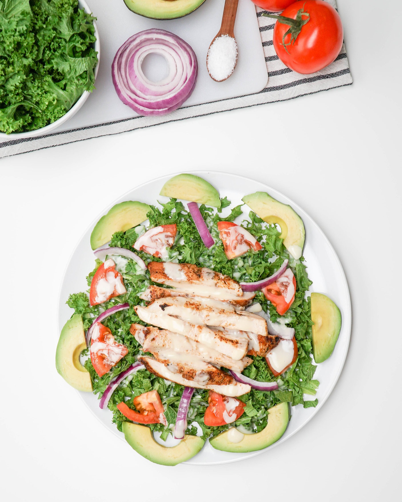 saladmenu cajun chicken salad