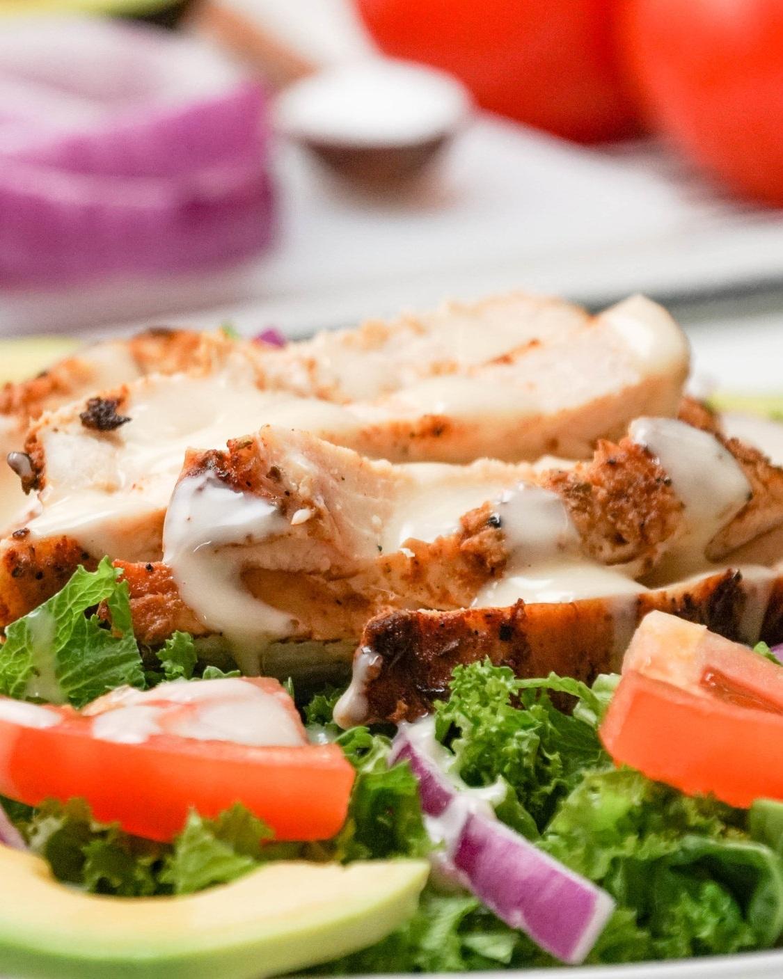saladmenu.com cajun chicken salad