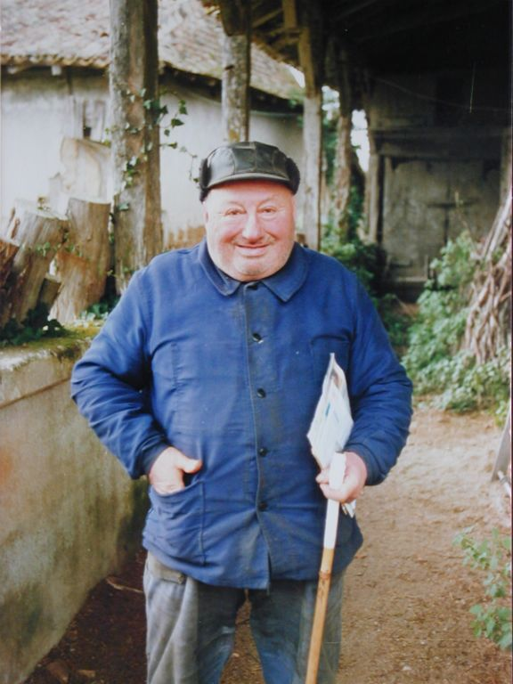 Abel Guionneau, le donateur du Parcot, en 1987