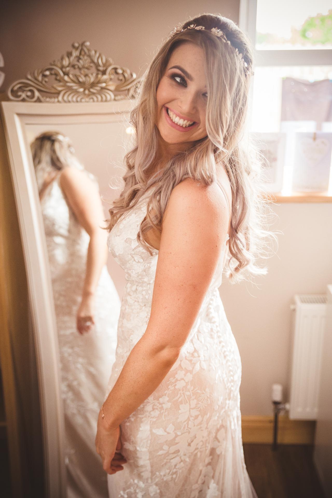 Nicole Joyce wedding ready!