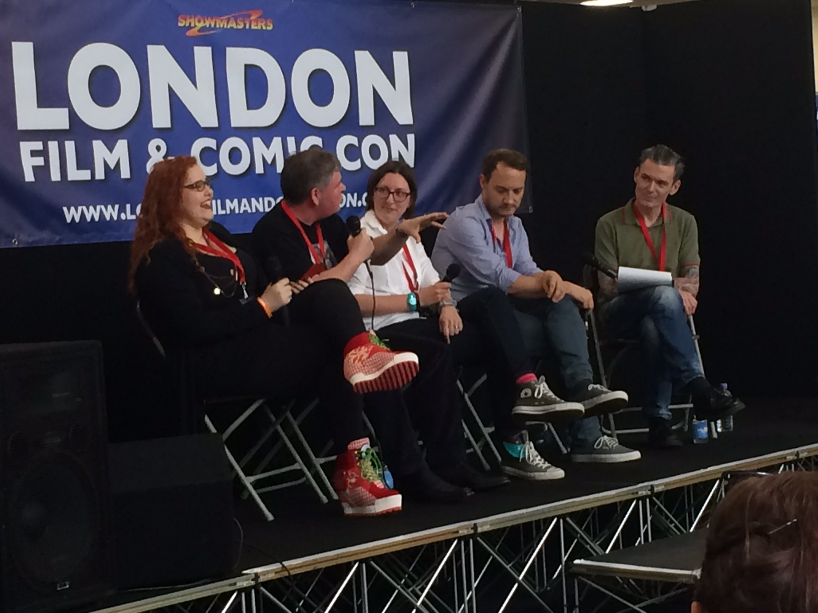 It's all laughs on our panel
