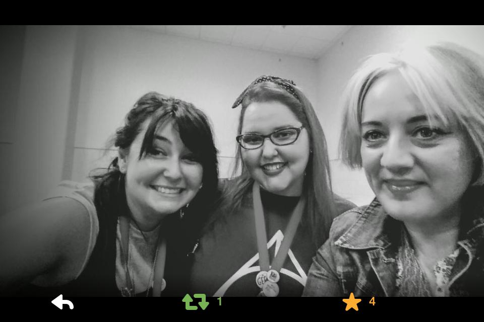 Anna McKerrow, Dawn Kurtagich and Tatum Flynn!