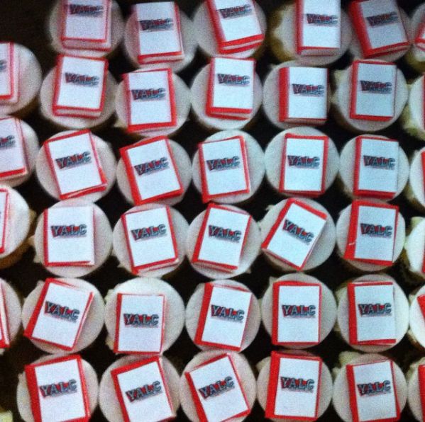 YALC cupcakes.