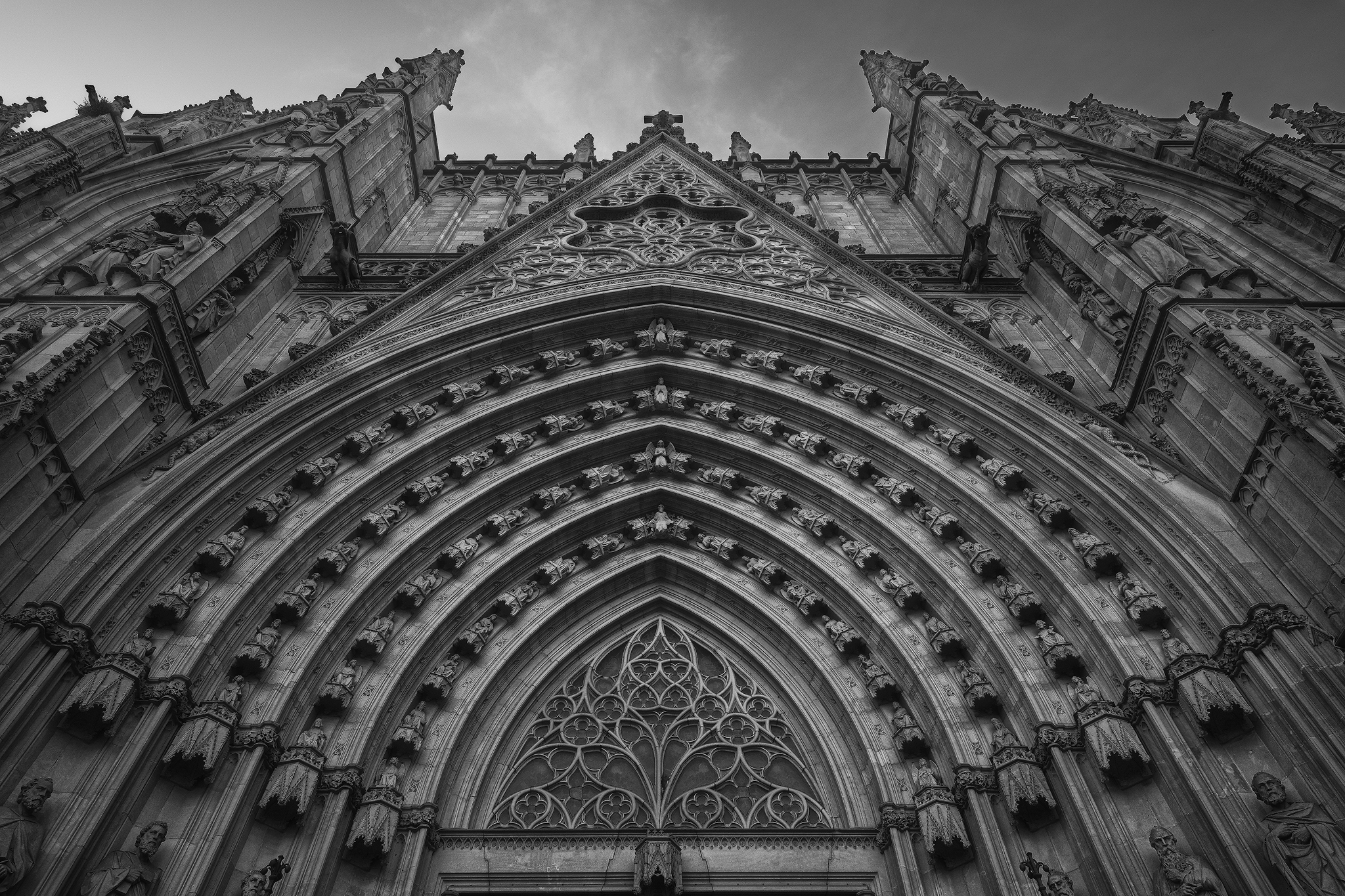 Catedral de la Santa Creu i Santa Eulàlia II  Barcelona 2018