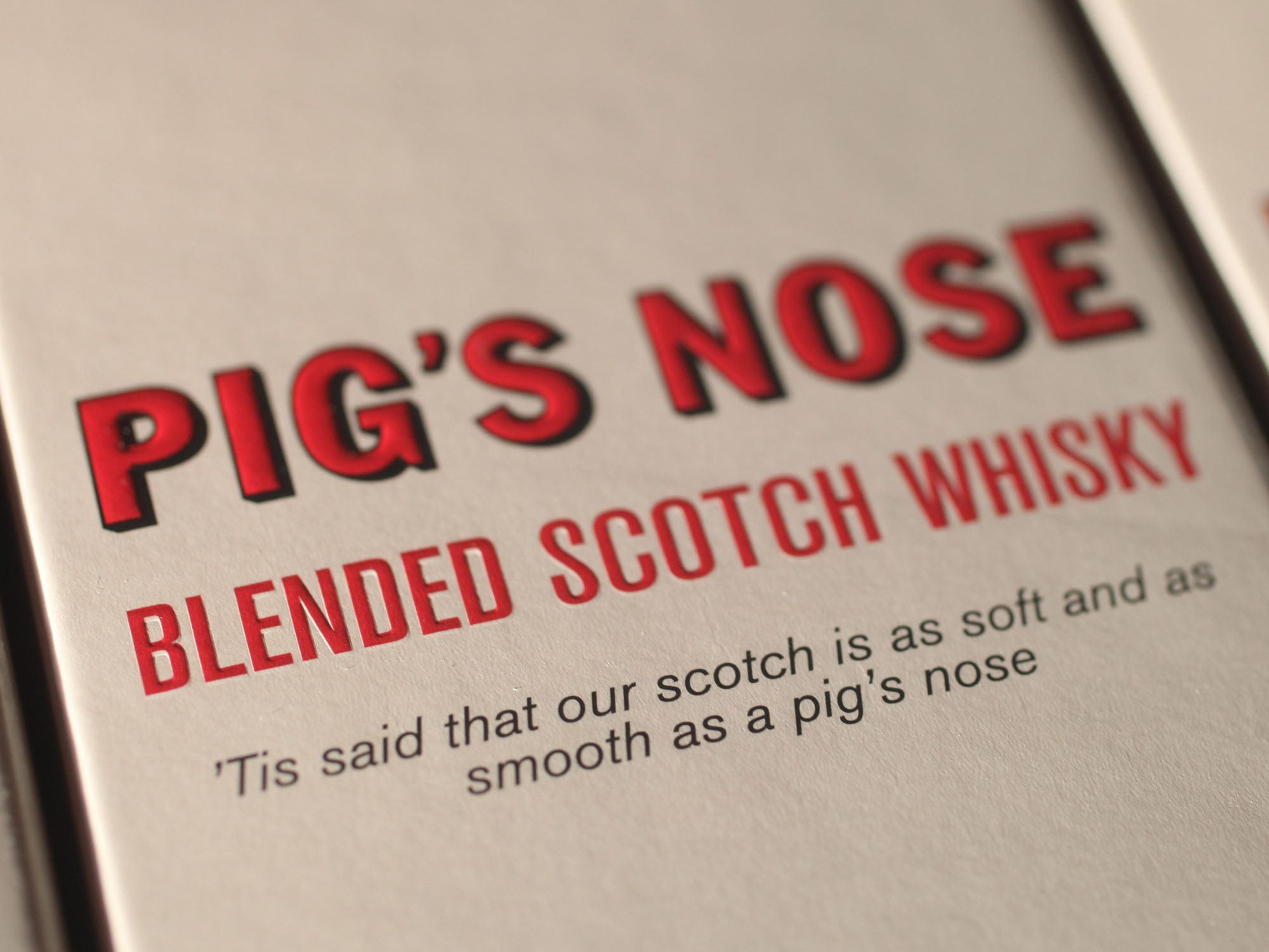 Pig's Nose | Whisky