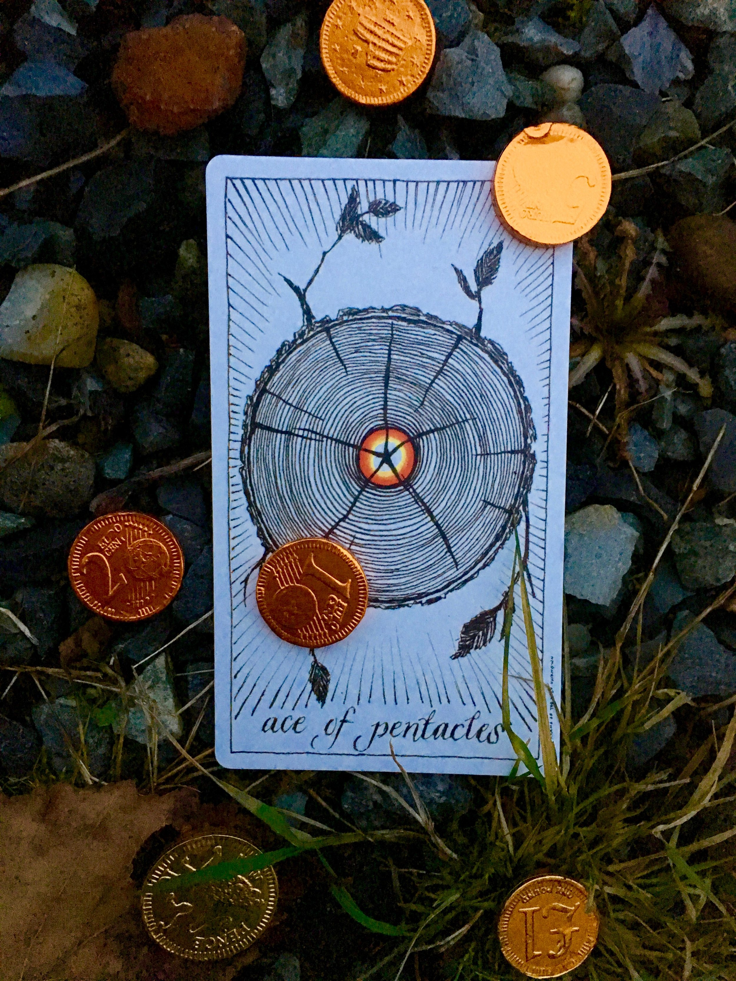 The Ace of Pentacles ~ Planting Seeds for Abundance! — Megan