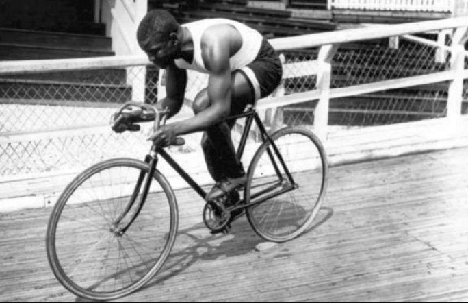 """Marshall Walter """"Major"""" Taylor was an American cyclist who won the world 1-mile track cycling championship in 1899 after setting numerous world records and overcoming racial discrimination."""