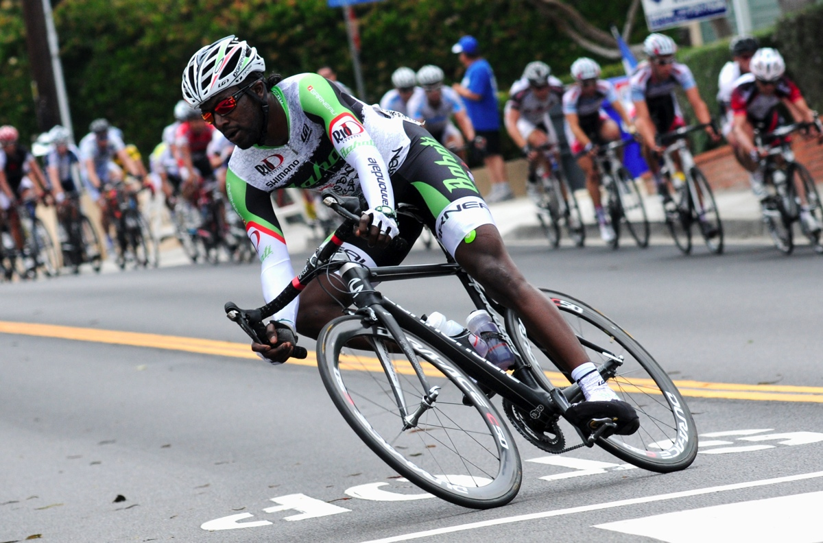 Rahsaan Bahati is an American racing cyclist who currently rides for his own cycling team, Bahati Foundation Elite Team. He previously raced for the SKLZ-Pista Palace cycling team.