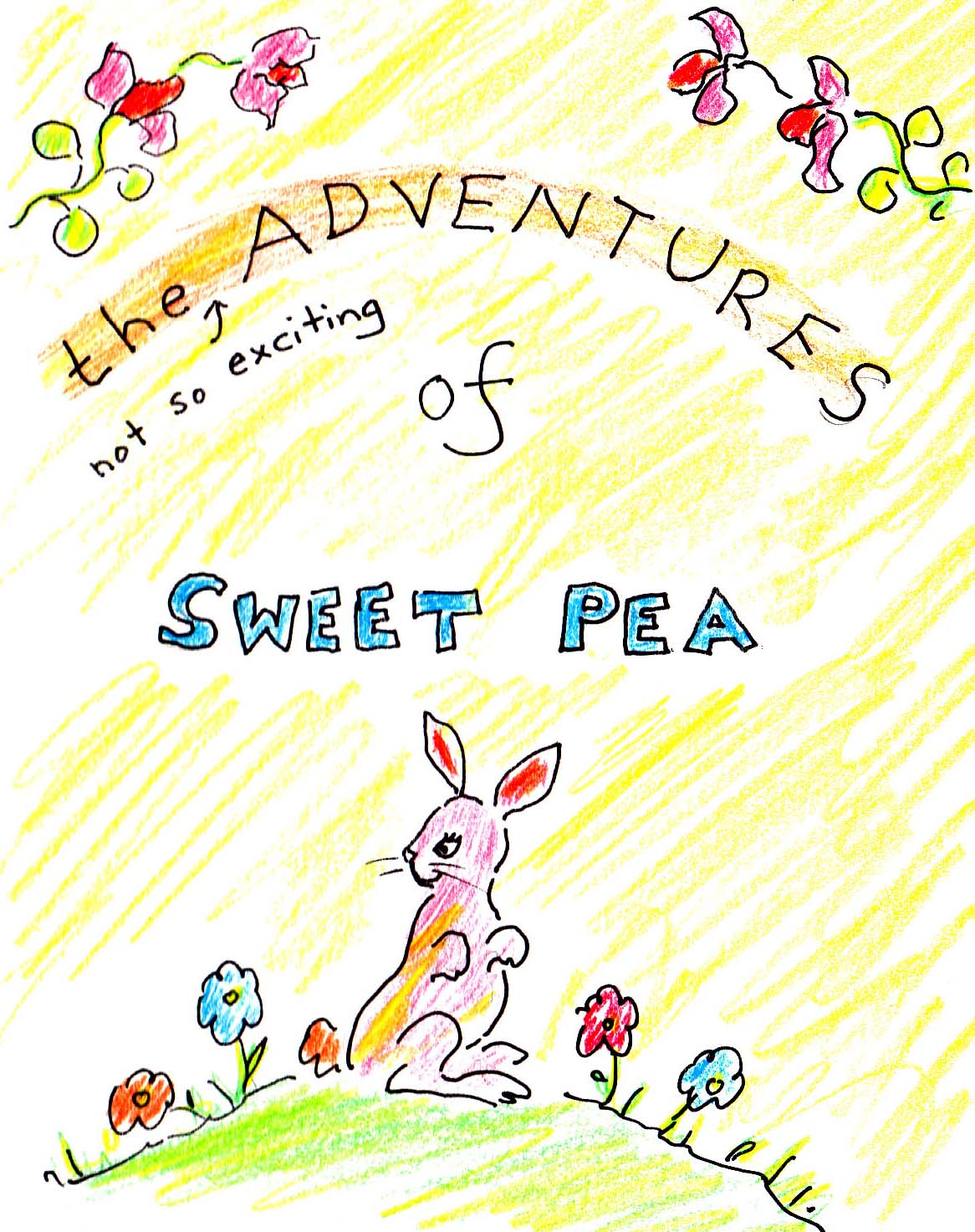 The first Sweet Pea book
