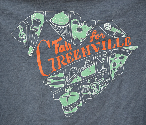 Fall For Greenville T-Shirts