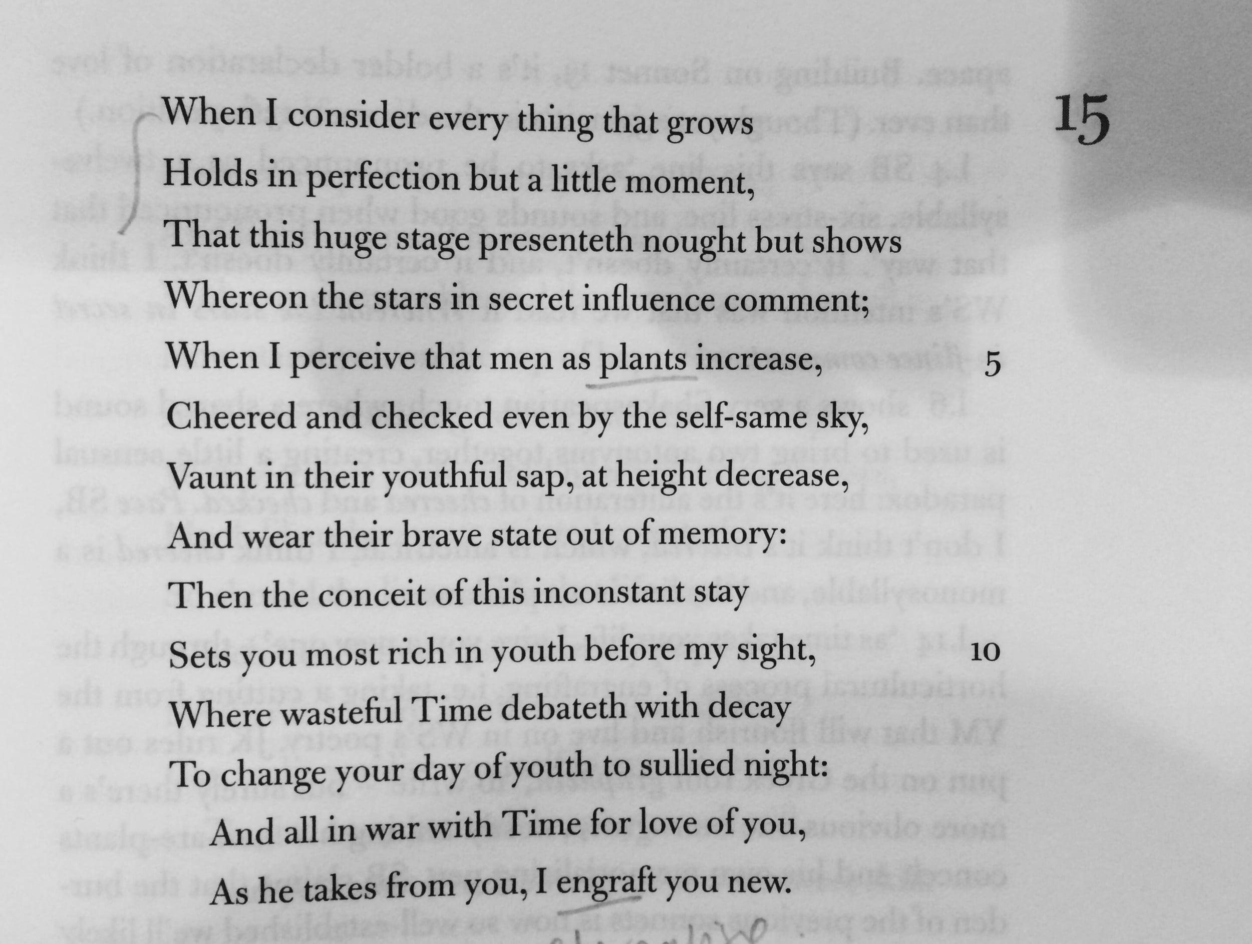 Sonnet 15.