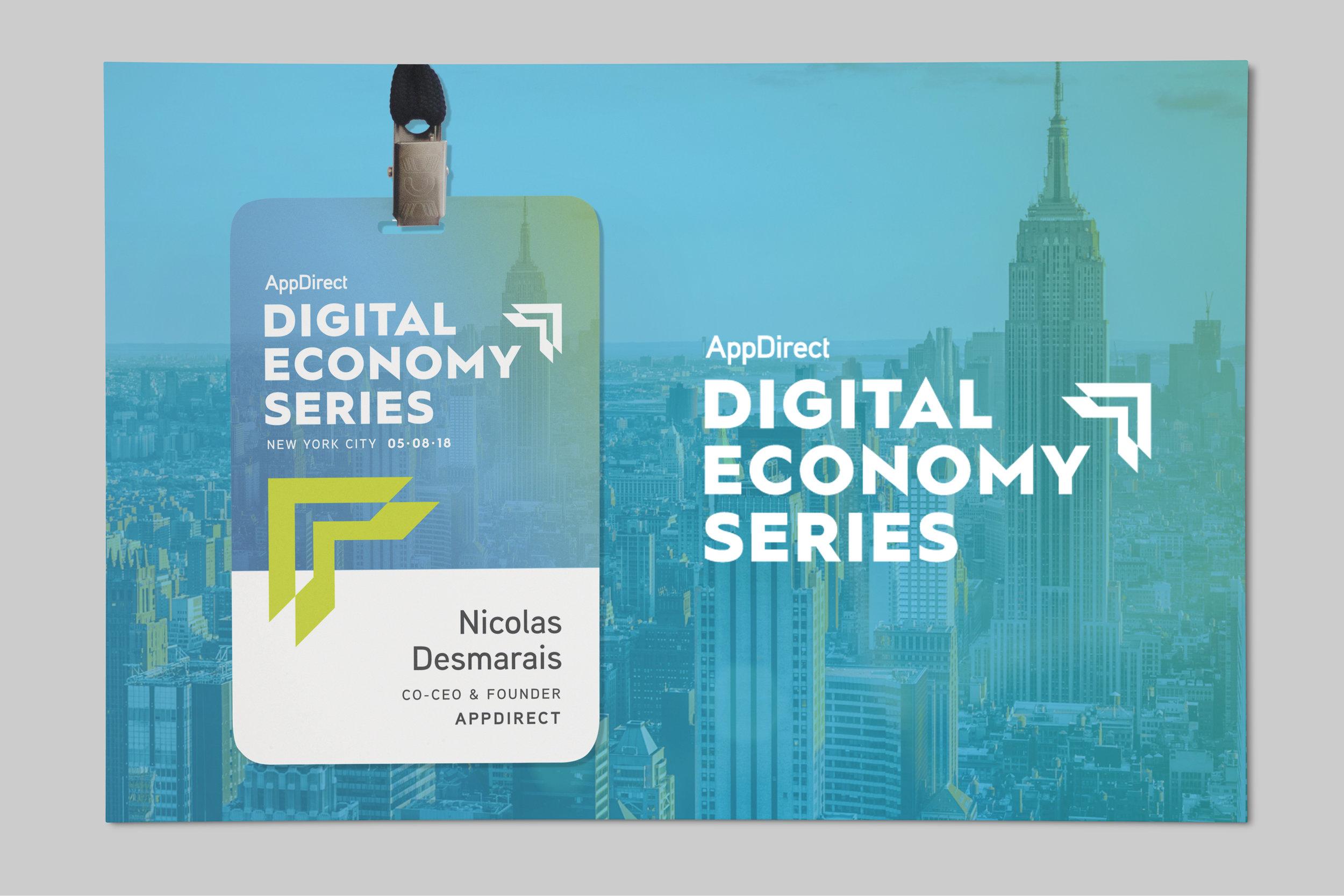 Digital Economy Series Branding | Art Direction, Design by Samantha Salvaggio