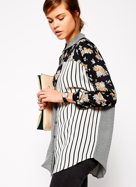 asos patterned shirt