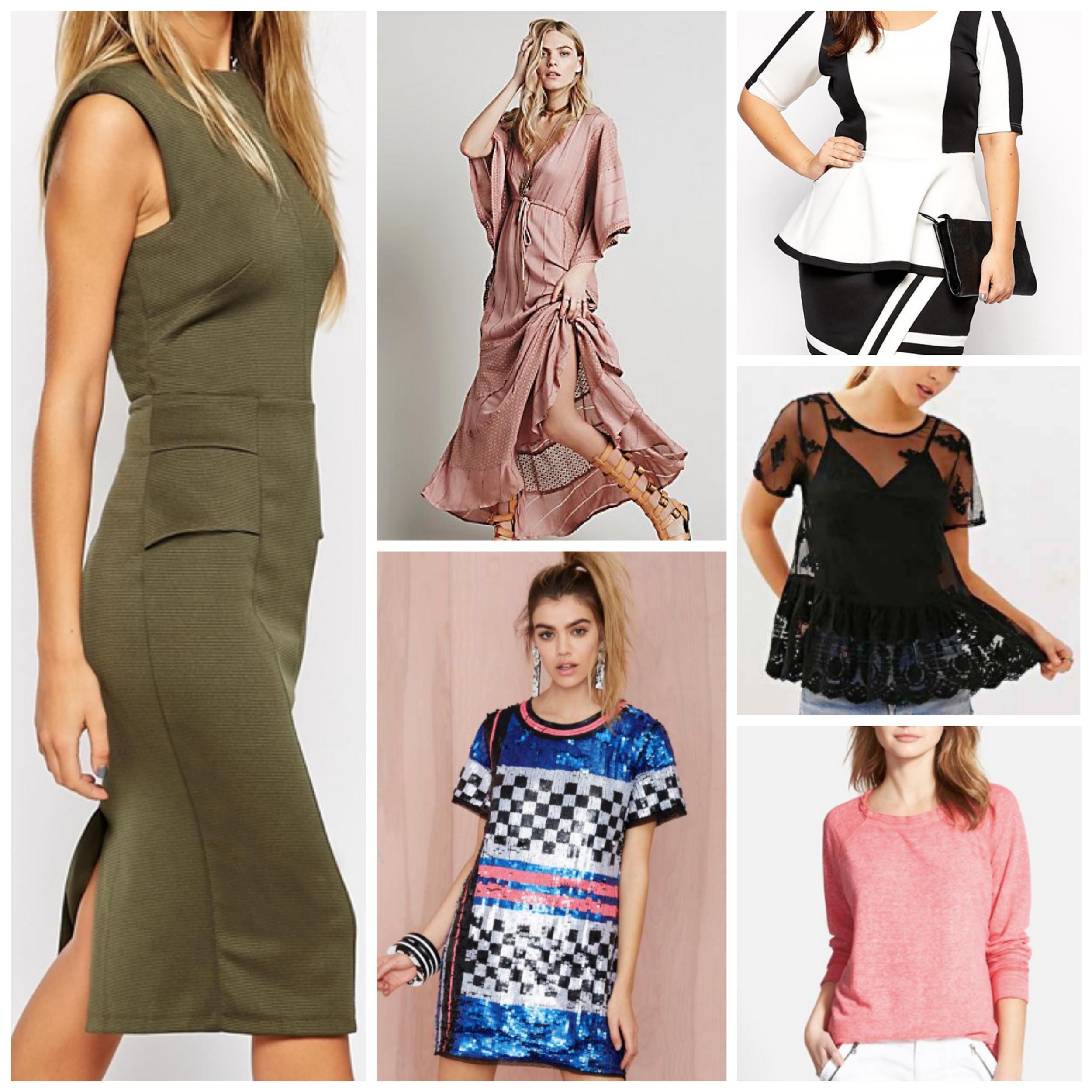 five basic fashion styles