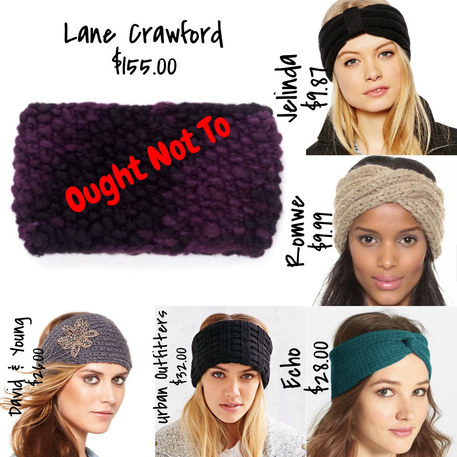 winter head wraps - affordable