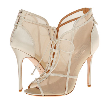 Badgley Mischka sheer heels
