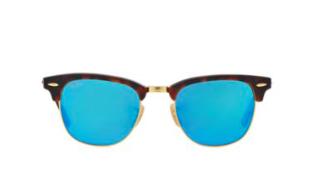 Ray-ban square mirrored sunglasses
