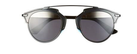 Dior black round sunglasses