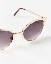 Urban Outfitters cat eye metal sunglasses
