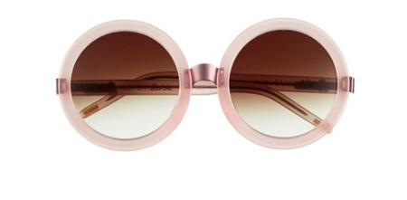 Wildfox oversized round sunglasses