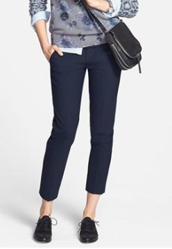 Vince navy trousers
