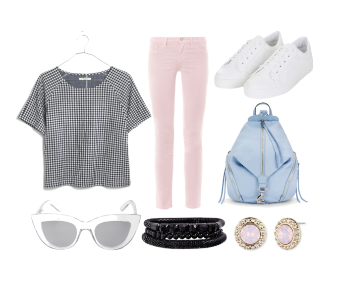 Gingham outfit idea