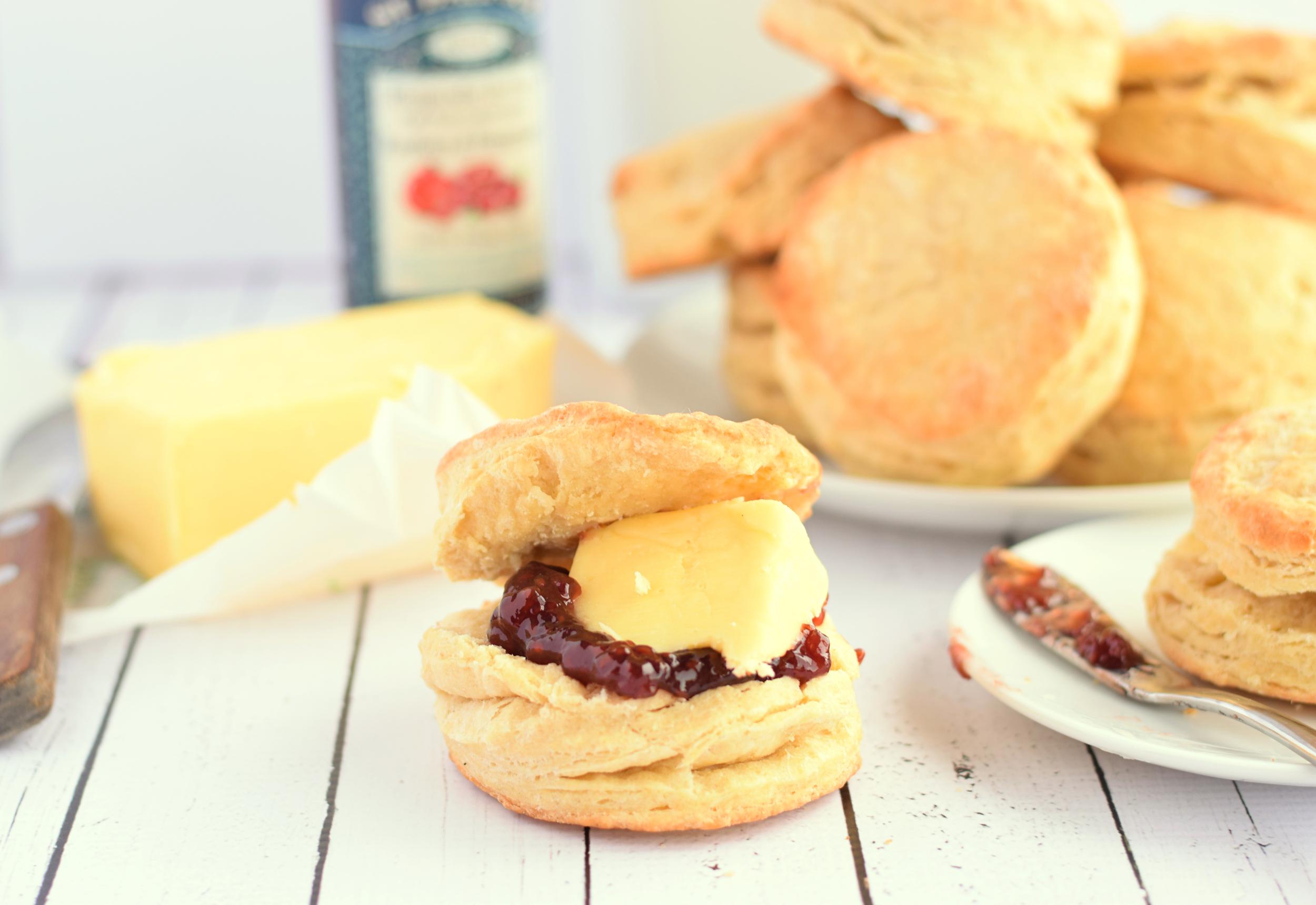 easy plain scones
