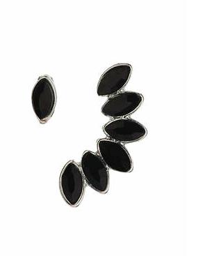 Topshop black earcuff set