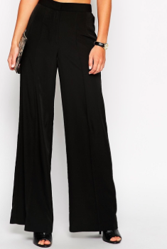 flowy black pants Asos